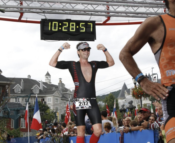 Nutrition of an IRONMAN: Jeremy Law and Pierre Allard