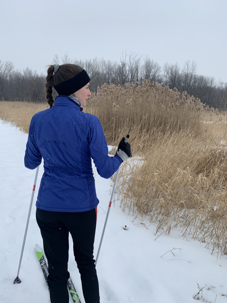 Cross-country skiing: what to eat before and after