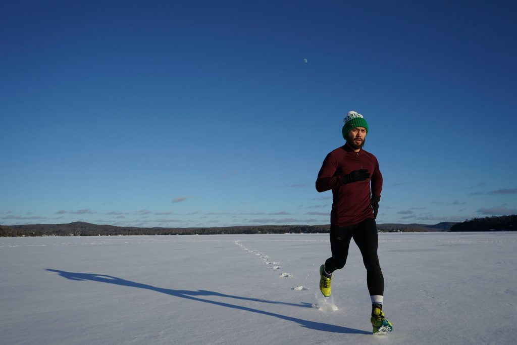 Running in cold weather: what to eat?
